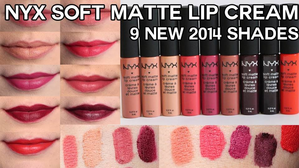 [NYX] Son kem NYX soft matte lip cream