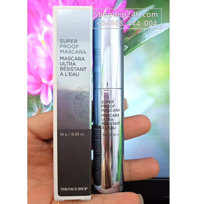 [The Face Shop] Chải mi không lem Super Proof Mascara The Face Shop