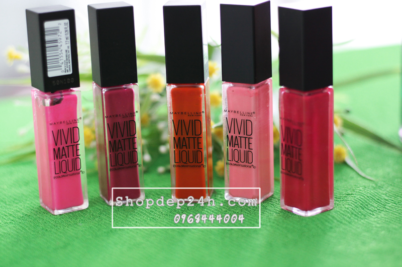 [Maybelline] Son Vivid Matte Liquid Lip Color