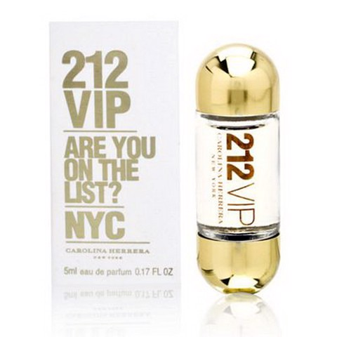[Carolina Herrera] Nước hoa mini nữ 212 VIP For Women 5ml