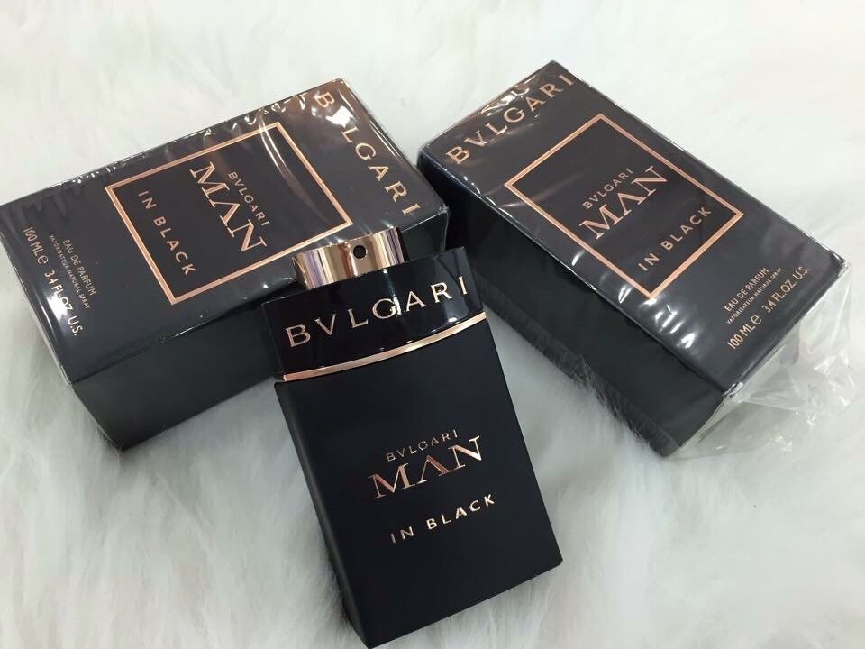 [Bvlgari] Nước hoa mini nam Bvlgari Man In Black For Men 5ml