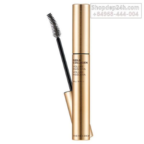 [The Face Shop]  Mascara Gold Collagen The Face Shop